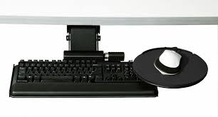Cpu Holder Under Desk Mount Nz by Keyboard Tray And Mouse Platform Ergonomic Keyboard Support From