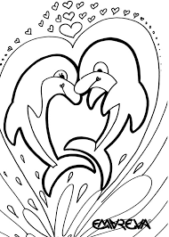 Free Dolphin Coloring Pages 18