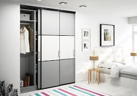 placard encastrable chambre porte de placard battant sur mesure dressing niche trio chambre 2