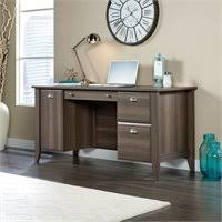 Sauder Shoal Creek Dresser Diamond Ash by Sauder Shoal Creek Executive Desk With Hutch In Diamond Ash