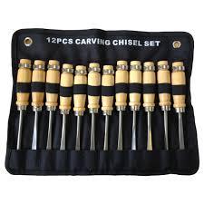moorcut direct wood carving chisel u0026 gouge set 12pc micro set