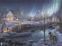 Thomas Kinkade Christmas Tree by Thomas Kinkade Winter Wallpaper Google Search Art Pinterest