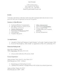 Sample Medical Receptionist Resume For Job Examples Jobs Samples Secretary Clinic