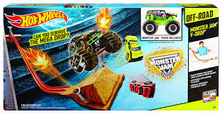 Buy Hot Wheels Monster Jam V-Drop Track Set Online At Low Prices In ... Is Monster Jam Family Friendly East Valley Mom Guide Go For A Drive In Speedster Pirates Curse Trucks Hit The Dirt Rc Truck Stop Worlds Faest Truck Gets 264 Feet Per Gallon Wired A Vector Illustration Of Jumping On Cars Royalty Free 124 Scale Die Cast Metal Body Cgd63 World Finals 15 Wiki Fandom Powered Monster Truck Just Little Brit With Animals Race Track Stock Art More 2016 Sicom Blaze And Release Date 2018 Keep Track Of Stunt Challenge Ramp Storage Case