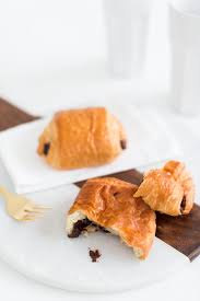 Two Ingredient Chocolate Croissant Recipe