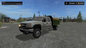 100 Chevy Dump Truck 2006 CHEVY SILVERADO DUMPTRUCK V1 FS2017 Farming Simulator 17
