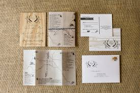 Rustic Wooden Wedding Invitations By Fourth Year Studio Via Oh So Beautiful Paper 1