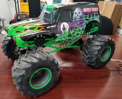 NEW BRIGHT RC Monster Jam 12.8V Grave Digger R/C Big Truck For Parts ... Ax90055 110 Smt10 Grave Digger Monster Jam Truck 4wd Rtr Gizmo Toy New Bright 143 Remote Control 115 Full Function 24 Volt Battery Powered Ride On Walmart Haktoys Hak101 Invincible Turbo Twister Rechargeable Rc Hot Wheels Shop Cars Amazoncom Giant Mattel Axial Electric Traxxas Sonuva Truck Stop Rc Trucks Show Scale Playtime Dragon Cheap Car Find Deals On Line At Sf Hauler Set Carrier With Two Mini