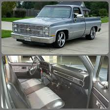 Custom, 2-tone '84 Silverado SWB | C10 | Chevy Trucks, Chevy, Chevy C10 1984 Chevy Truck Wiring Diagram Alloveme Big Red Silverado C10 T01 Youtube 84 Wellreadme Badwidit Chevrolet 1500 Regular Cab Specs Photos Squared Business Photo Image Gallery Truck 53 Swap Holley Ls Fest 2012 4l80e 373 K10 Alternator Free For You Superior Auto Works Pickup Chevy Maintenancerestoration Of Oldvintage Vehicles 1972 Trucks Hot Rod Network For Sale Classiccarscom Cc1036229