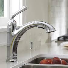 Menards Kitchen Faucet Aerator by Kohler Kitchen Faucets Kohler K10433cp Forte Single Handle Pull