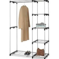 Bedroom Portable Clothing Rack Clothes Au Display With Cover