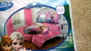 Disney FROZEN Twin forter Bedding Set Review Toddler Cute 1st