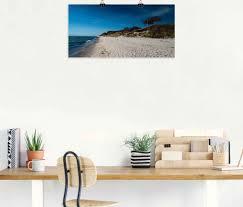 artland wandbild am weststrand ostsee darss strand 1 st in vielen größen produktarten leinwandbild poster wandaufkleber wandtattoo