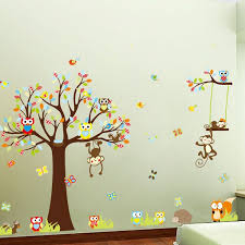Owl Bedroom Wall Stickers by 13 Best Stickers For Girls Images On Pinterest Animal Wall