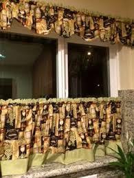 tuscany kitchen curtain insert valance 60 wide x 14
