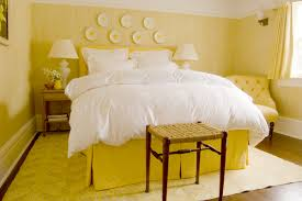 Yellow Bedroom Color For Modern Style Gorgeous Interior Design