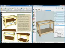 Wood Workbench Plans Free Download by Workbench Plans Kreg Woodworking Inside