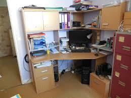 bureau angle avec rangement achetez grand bureau d angle occasion annonce vente à chilly