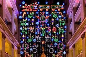 macy s light show at macy s center city visit