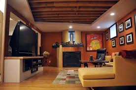 Diy Unfinished Basement Ceiling Ideas by Genuine Wall Unfinished Basement Plus Unfinished Basement Ceiling