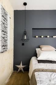 chambre grise et chambre grise et blanche cheap chambre moderne avec mobilier une