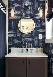 Bathroom : Nautical Theme Bathroom With Wallpaper Boats And Navy ... Bathroom Theme Colors Creative Decoration Beach Decor Ideas Small Design Themed Inspired With Vintage Wall And Nice Lewisville Love Reveal Rooms Deco Decorations Storage Guys Images Drop Themes 25 Best Nautical And Designs For 2019 Cottage Bathroom Home Remodel Pinterest Beach Diy Wall Decor 1791422887 Musicments Navy Grey Coastal Tropical Themed Decorating Ideas Theme Office Lisaasmithcom