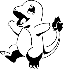 Charizard Pumpkin Stencil by Pokemon Torchic Stencil Images Pokemon Images