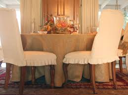 Pier One Dining Room Chair Covers by Dining Room Terrific Dining Room Chair Covers With Ribbon