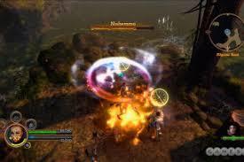 dungeon siege 3 split screen dungeon crawler hack and slash tag breaking