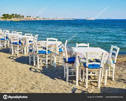 Tables Chairs Greek Tavern Sea Beach Kos Island Greece ... Tables Old Barrels Stock Photo Image Of Harvesting Outdoor Chairs Typical Outdoor Greek Tavern Stock Photo Edit Athens Greece Empty And At Pub Ding Table Bar Room White Height Sets High Betty 3piece Rustic Brown Set Glass Black Kitchen Small Appealing Swivel Awesome Modern Counter Chair Best Design Restaurant Red Checkered Tisdecke Plaka District Tavern Image Crete Greece Food Orange Wooden Chairs And Tables With Purple Tablecloths In