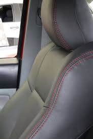 Interior Of Toyota Tacoma With Black Leather And Red Stitching ... How To Reupholster A Truck Seat Youtube 2017 Used Toyota Tacoma Sr5 Double Cab 6 Bed V6 4x4 Automatic At Awesome Amazing Car Covers For Corolla Solid Beige New Amazon Smittybilt Gear Black Universal Cover Custom Pickup Auto Sedan Van 12 For Pets Khaki Pet Accsories Formosacovers Elegant Best A Work 19952000 Xcab Front 6040 Split Bench With Seat Cover Deals Toyota Tacoma Free Resume 2018