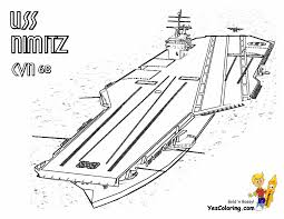 Enter To Aircraft Carrier Ship Coloring Pictures At YesColoring