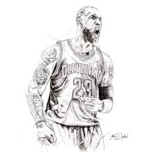 Lebron James Coloring Pages With Wallpapers Dual Screen