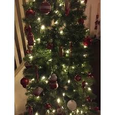 65 Ft Christmas Tree by 6 5 Ft Downswept Douglas Pencil Slim Fir Tree With Dual Color