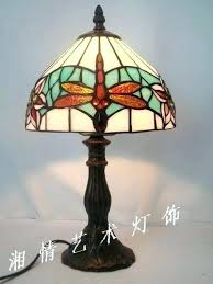 Target Glass Lamp Base by Table Lamp Red Dragonfly Table Lamp Direct Simple Small Glass