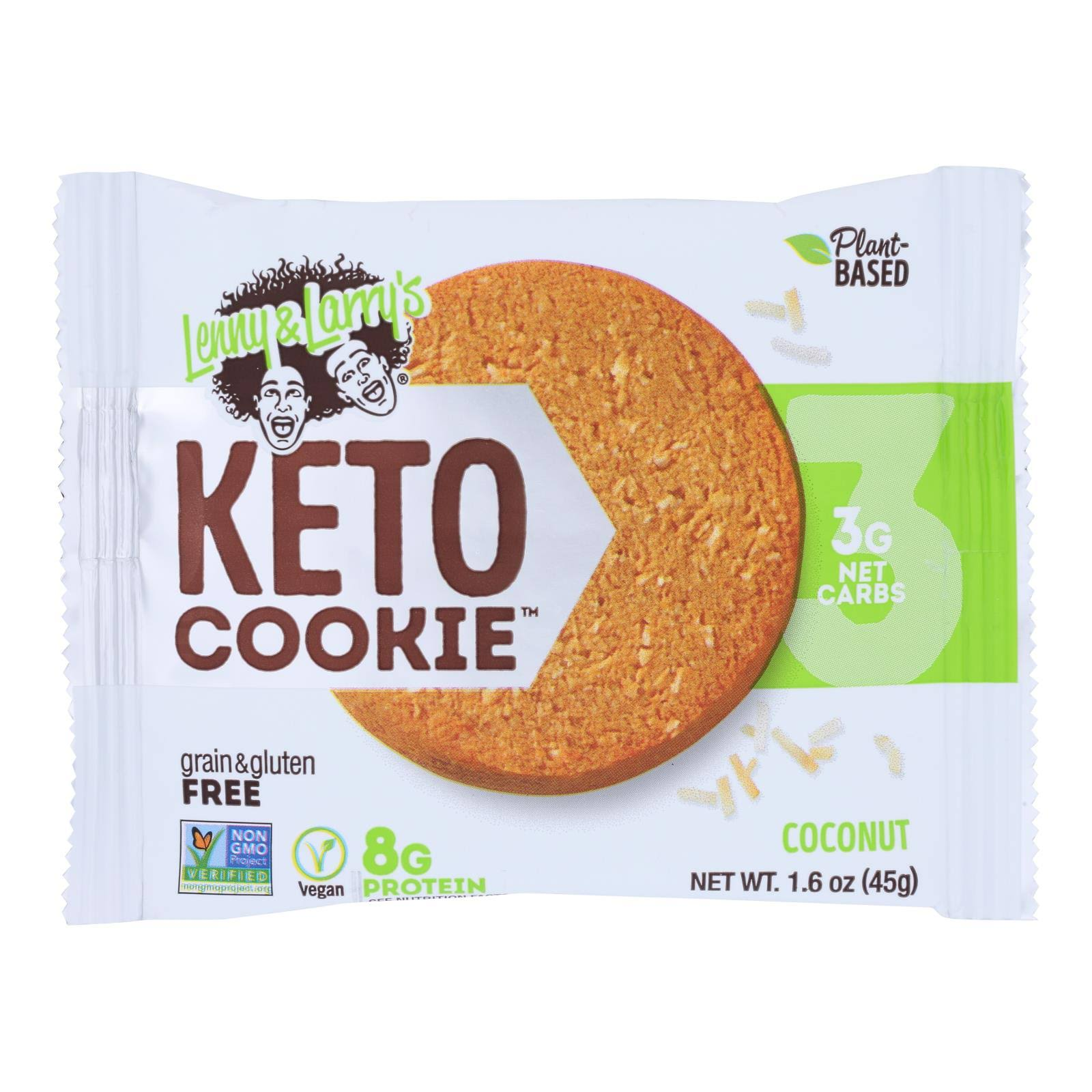 Lenny & Larry's Keto Cookie, Coconut - 1.6 oz