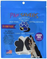 Dog Socks For Hardwood Floors Petco amazon com medium paw savers disposable dog paw pads 33 44