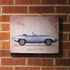 100 Vintage Truck Parts Signature Jaguar Wooden Sign VPAWSIGN10 Vintage Parts Usa Custom Rat