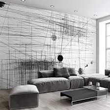 zyzed tapete schwarz weiß streifen linien abstrakte kunst