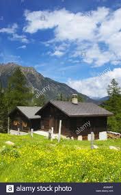 100 Log Cabins Switzerland Valais Val D Arpette Cabins In A Wild Flower Meadow