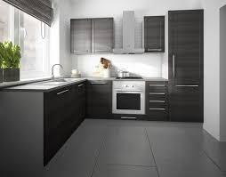 l form küchenzeile tytan einbauküche 140x250cm grau fronten mdf fino schwarz