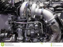 100 Truck Engine MAN Diesel Detail Editorial Stock Photo Image Of