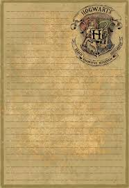 Parchment Paper Printing Hogwarts Font Rough Draft Studios Png