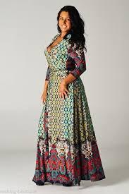 Bohemian Dresses Plus Size