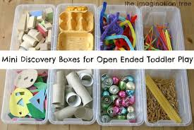 Mini Discovery Boxes For Open Ended Play Toys ToddlersActivities ToddlersMontessori ActivitiesArt