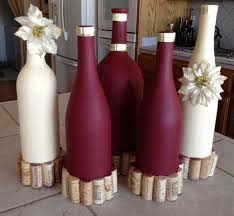 Decorative Wine Bottles Diy by Custom Decorated Wine Bottles Wine Bottles Pinterest