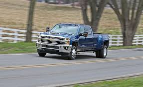 100 Chevy Dually Trucks 2017 Chevrolet Silverado 3500HD Diesel 4x4 Test Review Car And