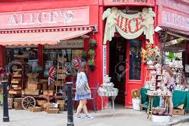 100 The Portabello LONDON UNITED KINGDOM JUNE 23 2017 Alices Shop Famous