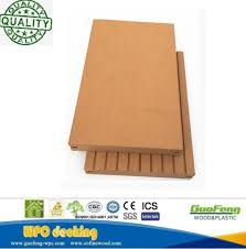 Decorative Exterior Decking Engineered Wood Flooring WPC Waterproof Board