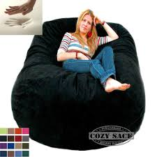 The Cozy Sac Bean Bag Chairs Giant Chair 6amp039 Foam Filled Sack